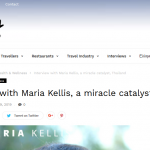 Thirst for knowledge – Maria Kellis